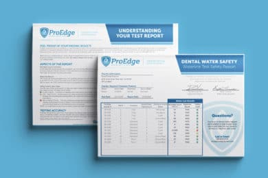 Sample ProEdge Waterline Safety Test Results Report